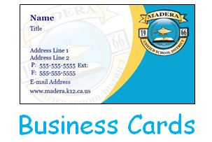 Business Card Request Form