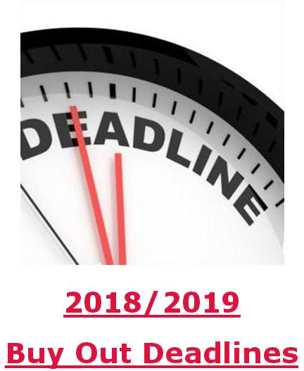 Click here to see the Buy Out Deadlines for the 2018-19 FY