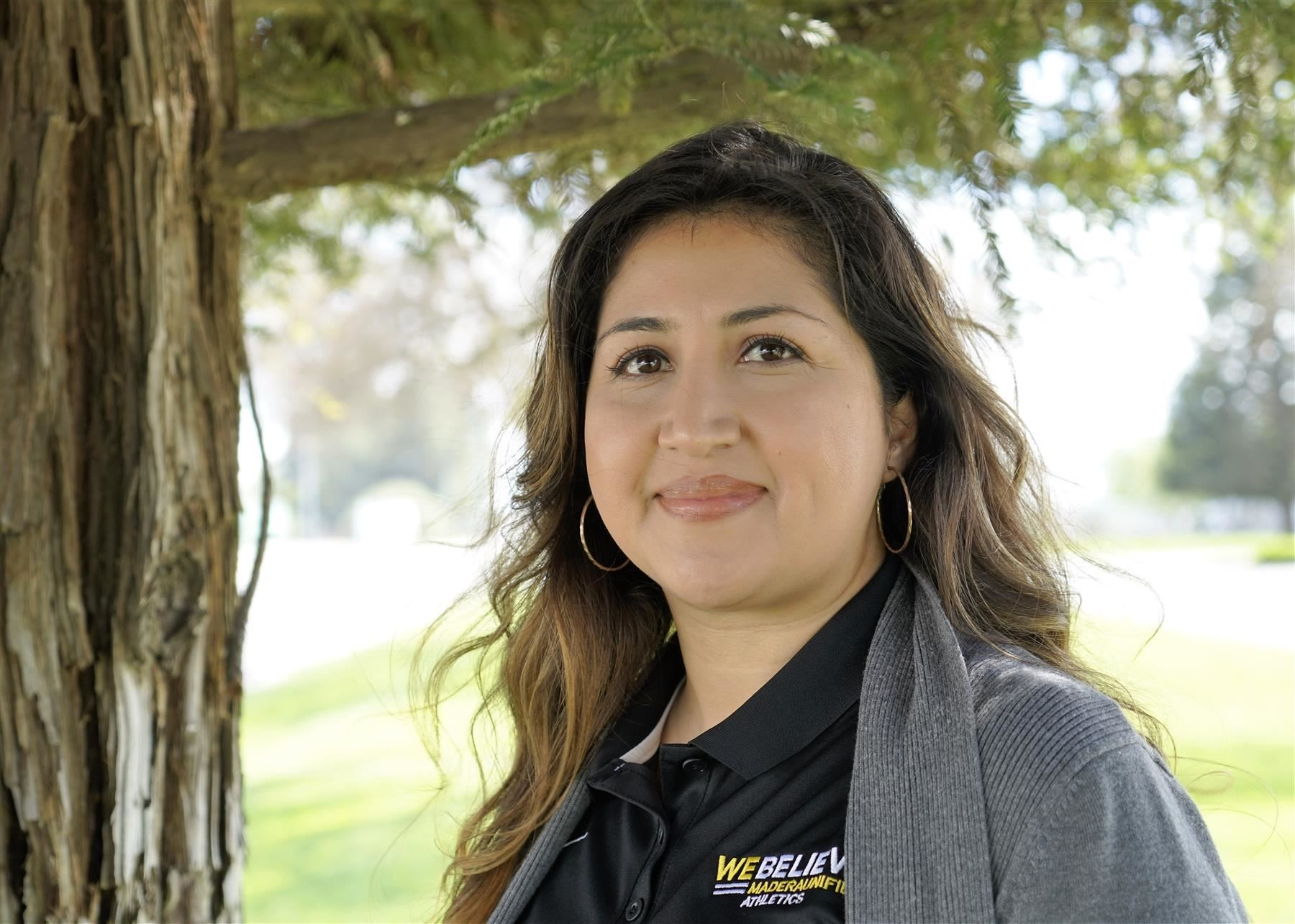 Bianca Ramirez, Administrative Assistant to the Athletic Director, Madera High School