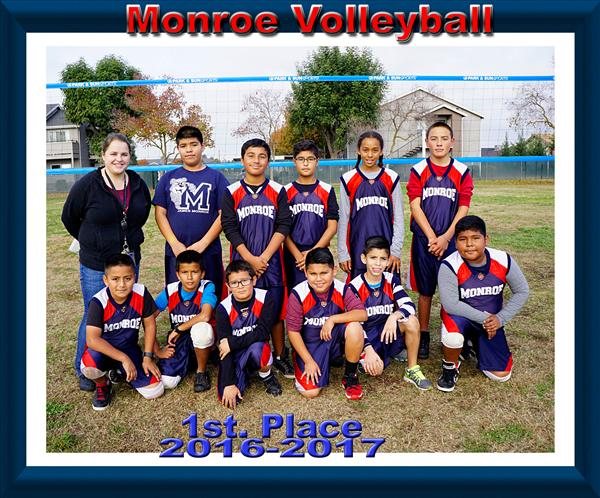 2016-2017 Volleyball 1st Place