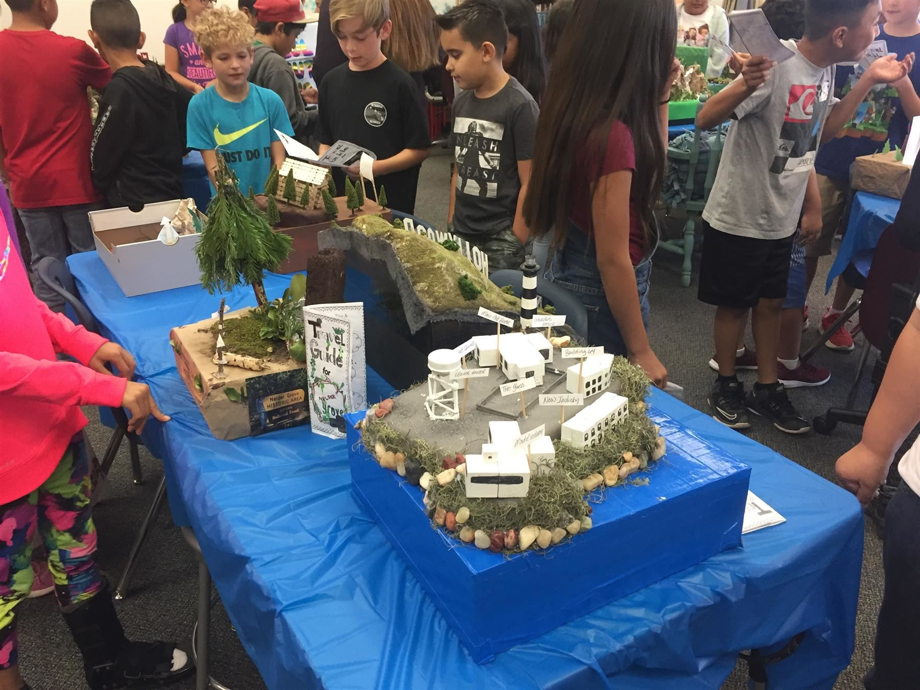 4th Grade California Projects