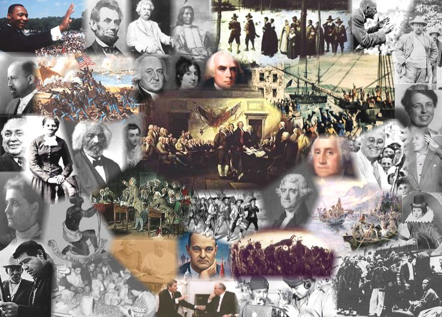 U.S. History Collage