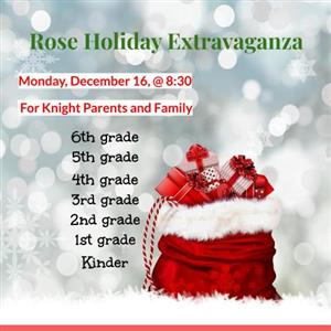 Rose Holiday extravaganza
