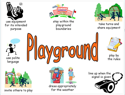 pbis paws itive playground rules