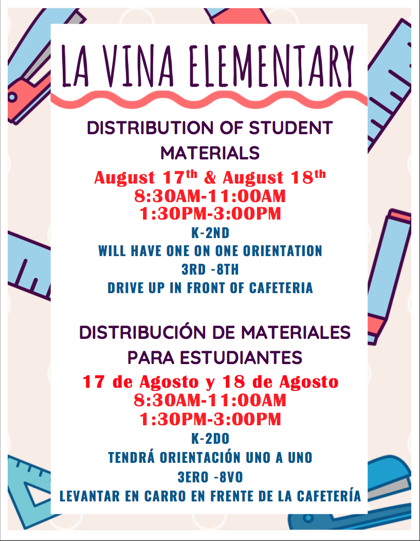 Materials Distribution