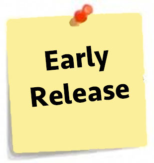 Early Release June 3-7th