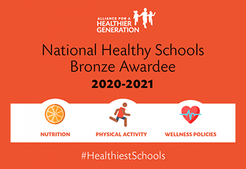 National Healthy Schools Bronze Awardee 20-21