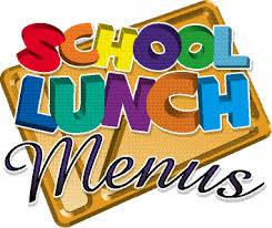Lunch Menu-School Nutrition And Fitness