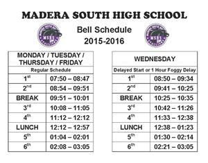 Bell Sched